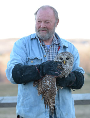 Jerry ready to release Barred Owl