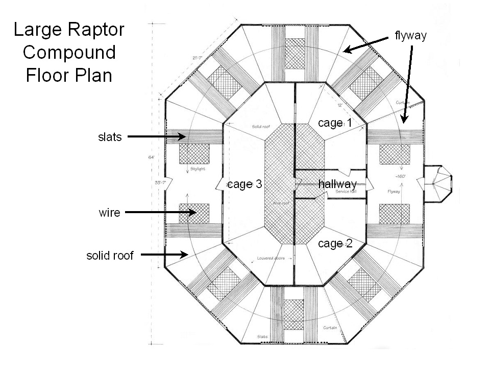 Large Raptor Compound Floor Plan